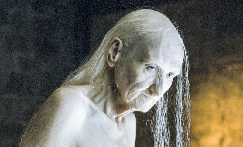 Melisandre appeared nude in several scenes throughout the series. (HBO/Sky)