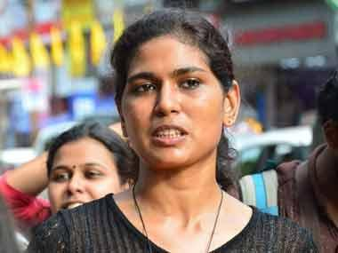Sabarimala: Rehana Fathima dresses up as Lord Ayyappa in Facebook post; Kerala Police arrests activist for hurting religious sentiments