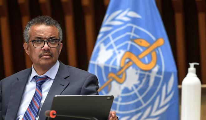 WHO director general Tedros Adhanom Ghebreyesus described the Covid-19 pandemic as a once-in-a-century health crisis. Photo: AFP
