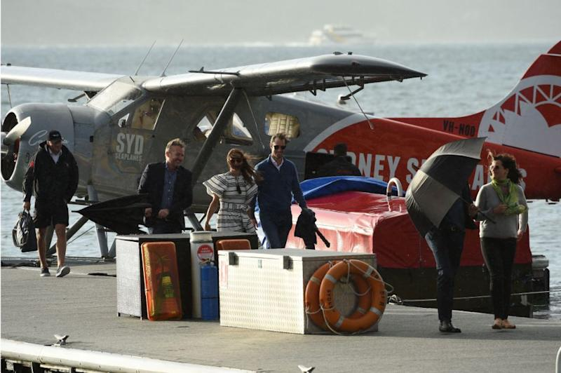 Pippa Middleton and husband James flew on the same Sydney Seaplane in May. Photo: Getty