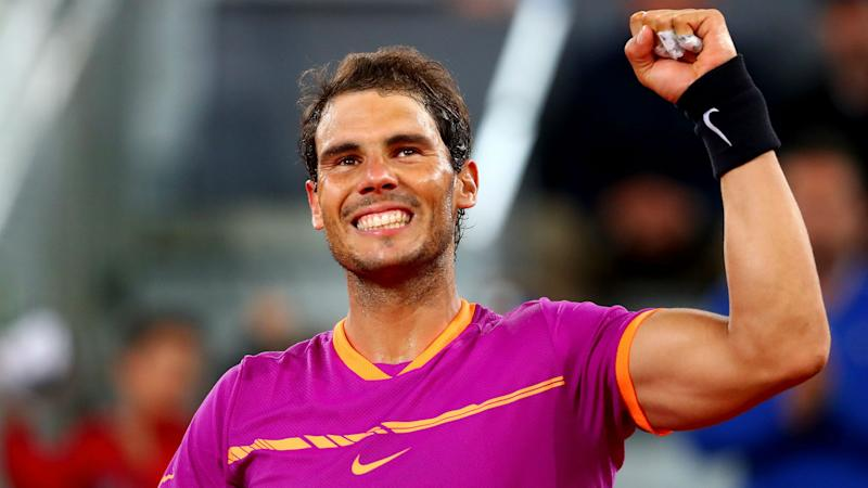 Nadal 'very happy' after successful Davis Cup return