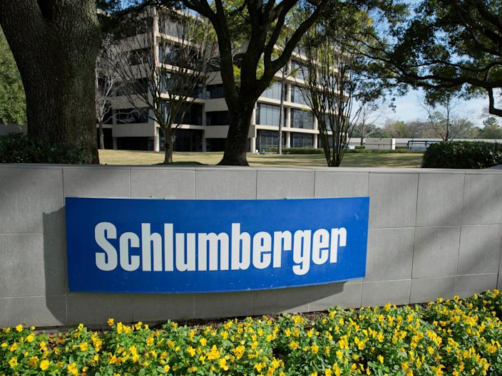 "A Schlumberger building in Houston, Texas. <p class=""copyright"">Reuters</p>"
