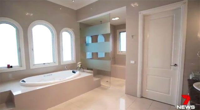 The ensuite. Source: 7News