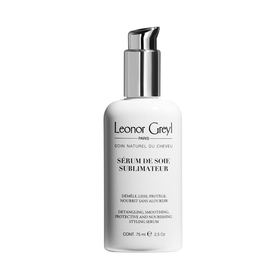 "<p>""Leonor Greyl Paris Detangling Hair Serum will never weigh your hair down. The lightweight, silky texture successfully calms flyaways, frizz, and split ends on dry or damp hair, working magic any time of the day. It's step two of a routine that begins with a fine mist of <a href=""https://www.allure.com/gallery/best-leave-in-hair-conditioners?mbid=synd_yahoo_rss"" rel=""nofollow noopener"" target=""_blank"" data-ylk=""slk:leave-in conditioner"" class=""link rapid-noclick-resp"">leave-in conditioner</a>, effectively sealing in extra moisture from mid-length to ends."" — <em>Lindsay Sansone, head of digital strategy</em></p> <p><strong>$46</strong> (<a href=""https://shop-links.co/1701307291212790620"" rel=""nofollow noopener"" target=""_blank"" data-ylk=""slk:Shop Now"" class=""link rapid-noclick-resp"">Shop Now</a>)</p>"