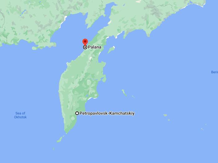 The plane was flying from Petropavlovsk-Kamchatsky to Palana in the Kamchatka Peninsula when it went missing.