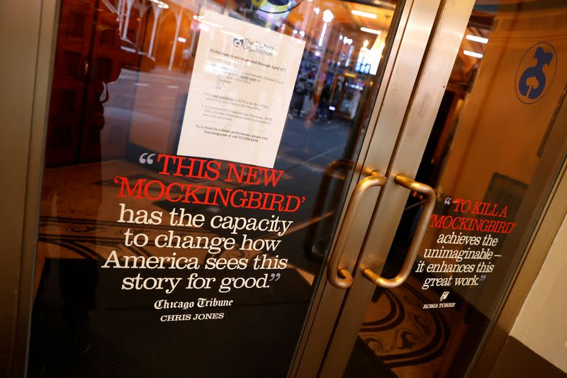Broadway theaters to remain closed through Sept. 6