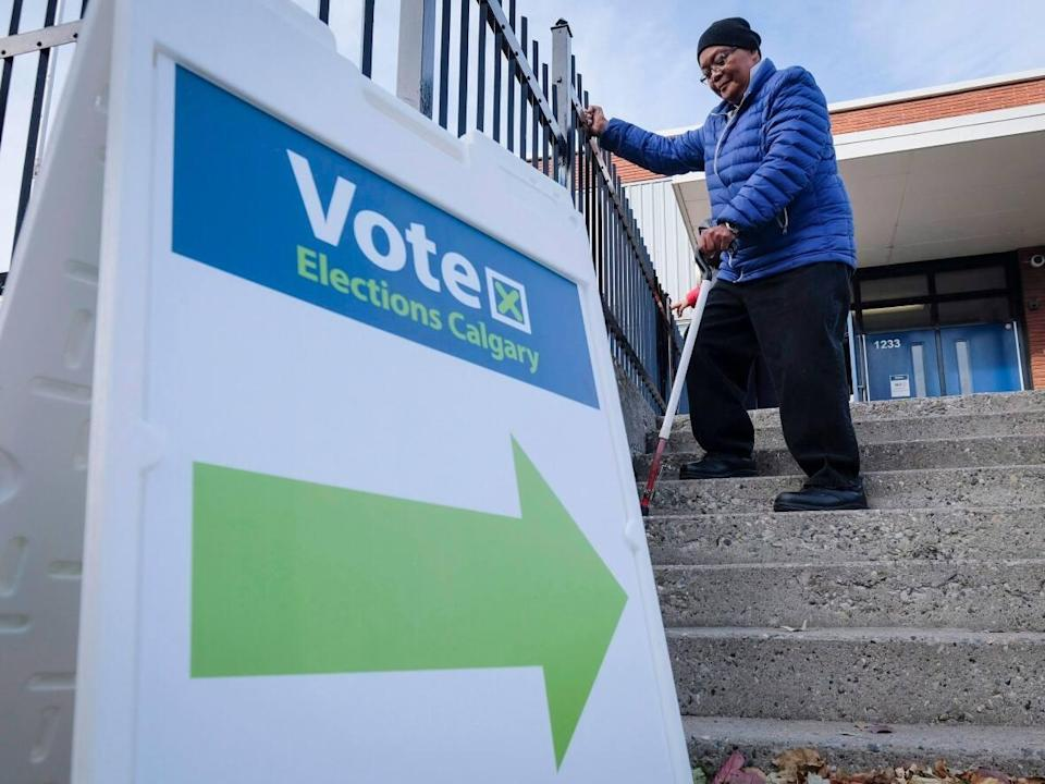 Calgarians will vote in the municipal election on Oct. 18. (Jeff McIntosh/The Canadian Press - image credit)