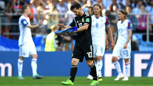 Diego Maradona believes criticism of Lionel Messi after his hapless performance against Iceland is misplaced.