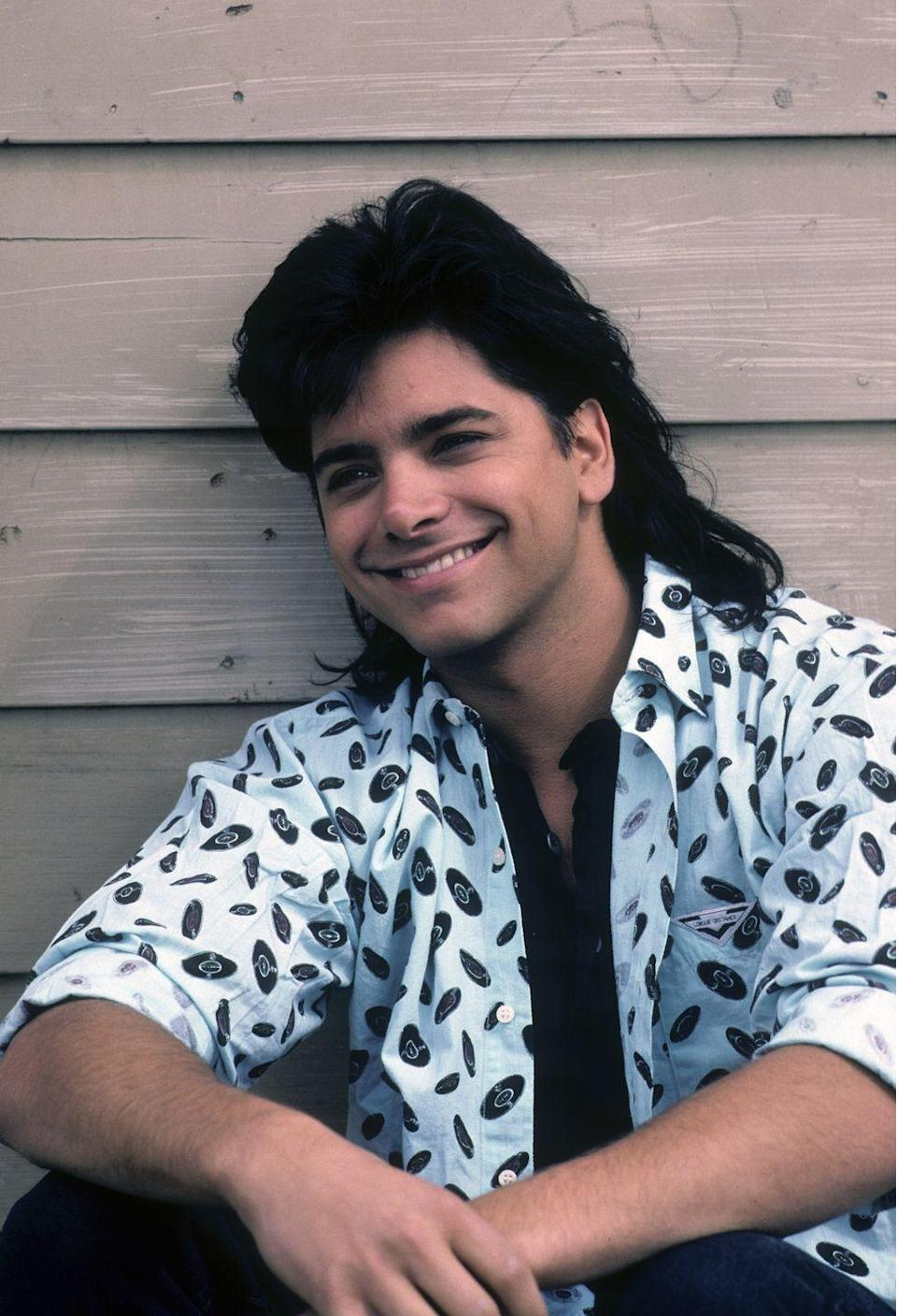 <p>Oh you want one more? Easy. Stamos was just as guilty of rocking this look.</p>