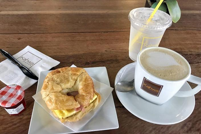 "<b>Photo: carlissa b./<a href=""https://yelp.com/biz_photos/kahwa-coffee-tampa-6?utm_campaign=415658e2-f01a-4f28-9e9b-64b30acab15c%2Cc22c7260-16af-470f-852e-e5b0325e55fd&utm_medium=81024472-a80c-4266-a0e5-a3bf8775daa7"" rel=""nofollow noopener"" target=""_blank"" data-ylk=""slk:Yelp"" class=""link rapid-noclick-resp"">Yelp</a></b>"