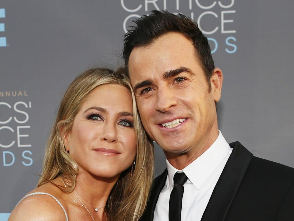 Jennifer Aniston and Justin Theroux divorced in 2018Getty Images