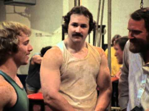 """<p>Pumping Iron was arguably the film that turned Arnold from niche athlete and D-list actor to one of the most recognizable faces, accents, and pair of biceps on the planet. It centers on the 1975 Mr. Olympia competition. </p><p><a class=""""link rapid-noclick-resp"""" href=""""https://www.amazon.com/Pumping-Iron-Arnold-Schwarzenegger/dp/B00PGWI6QC/ref=sr_1_1?dchild=1&keywords=Pumping+Iron&qid=1589831108&s=instant-video&sr=1-1&tag=syn-yahoo-20&ascsubtag=%5Bartid%7C2139.g.32581426%5Bsrc%7Cyahoo-us"""" rel=""""nofollow noopener"""" target=""""_blank"""" data-ylk=""""slk:Stream It Here"""">Stream It Here</a></p><p><a href=""""https://www.youtube.com/watch?v=e1vprTwGQ4M"""" rel=""""nofollow noopener"""" target=""""_blank"""" data-ylk=""""slk:See the original post on Youtube"""" class=""""link rapid-noclick-resp"""">See the original post on Youtube</a></p>"""