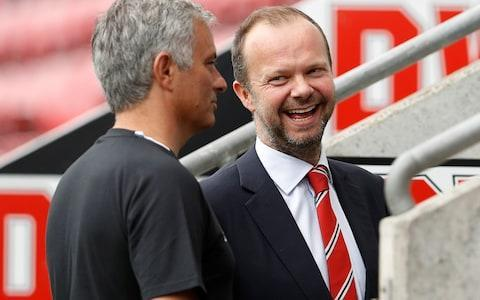 Manchester United executive vice chairman Ed Woodward holds the trust of the club's owners - Credit: ACTION IMAGES