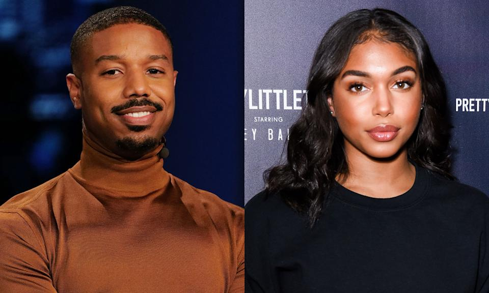 Michael B. Jordan and Lori Harvey confirm they are a thing. (Photos: Getty Images)