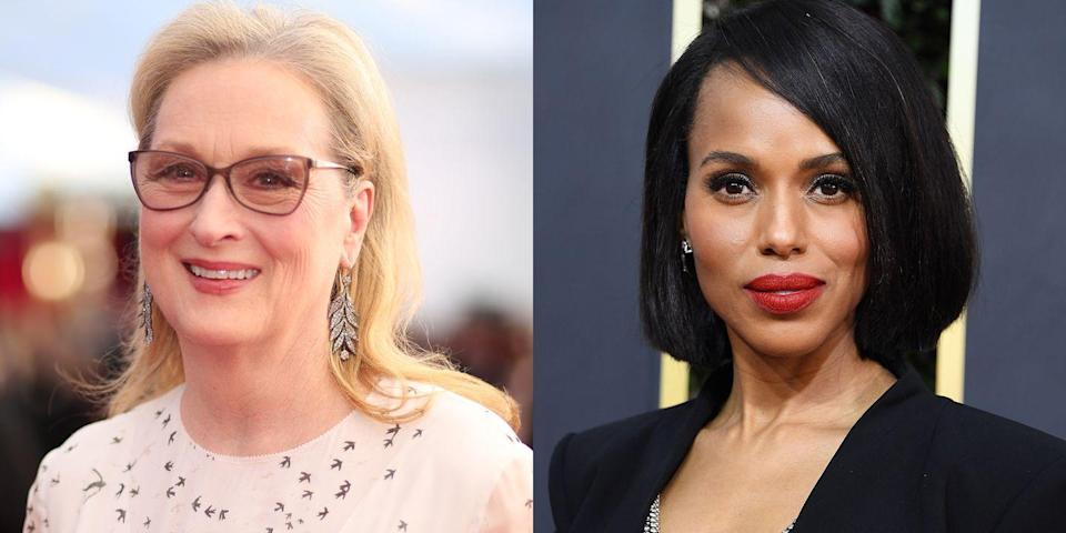 """Meryl Streep Is Barely Recognizable in the First Cast Pic From Netflix's """"The Prom"""""""
