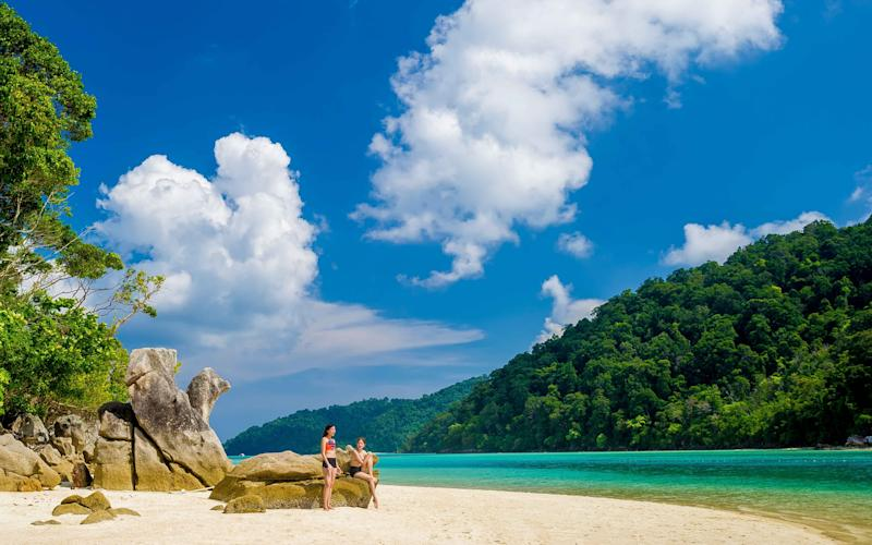 Find a close to deserted beach in Mu Ko Surin National Park in the Andaman Sea - Tourism Authority of Thailand, Copyright. All rights reserved