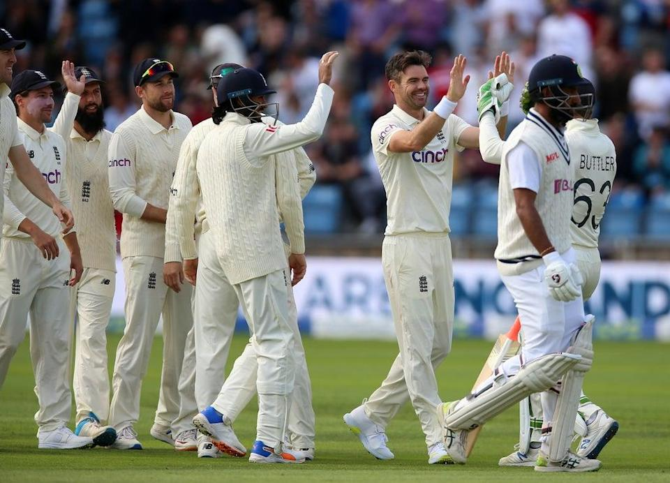 James Anderson led by example for England (Nigel French/PA) (PA Wire)