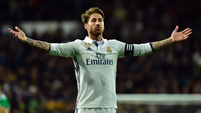 <p><strong>Sergio Ramos</strong></p> <br><p>Considered one of the best players in the world, probably one of the best defenders in history, Sergio Ramos has played for Real Madrid for the last twelve years and worked his way to become the team's captain. </p> <br><p>But Sergio Ramos is more than just a defender, he's a warrior. He's scored 68 goals in more than 500 games with Real Madrid, and always had this sense of timing: 19 of his last 23 goals have come when Madrid were either losing or drawing. The 90+ minute corner have become a thing you seriously want to avoid when you play Real Madrid because of this guy. </p>