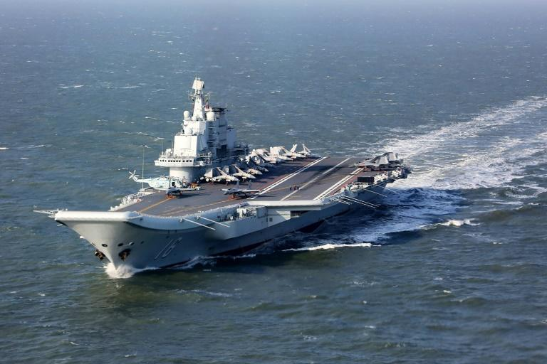 China sent its sole aircraft carrier into the Pacific for naval exercise in December 2016