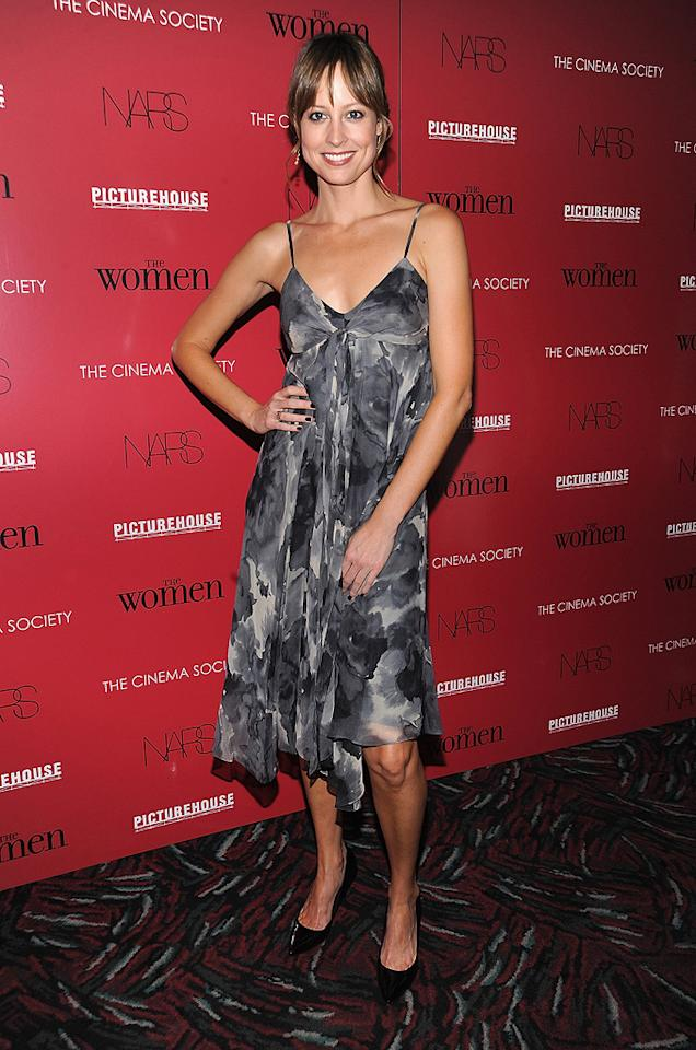 """Alexis Gilmore at the New York City Cinema Society Screening of <a href=""""http://movies.yahoo.com/movie/1809926850/info"""">The Women</a> - 09/11/2008"""