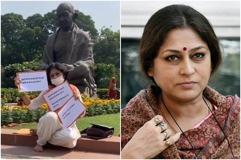 'Bollywood Robs Women's Dignity': Roopa Ganguly Protests in Parliament