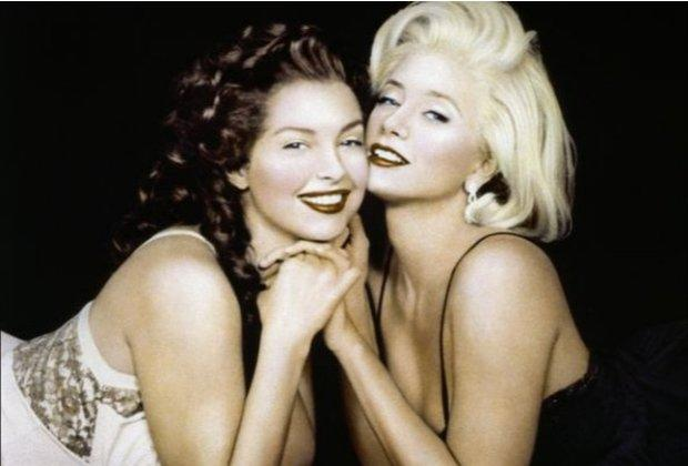 "Ashley Judd/Mira Sorvino  - ""Norma Jean & Marilyn"" — This 1996 HBO movie featured actresses Ashley Judd and Mira Sorvino in the respective roles of pre-fame Norma Jean Baker and her Hollywood starlet future self Marilyn Monroe. Though a mostly fictionalized account of her life — in which the older Marilyn is haunted by the ghost of the younger Norma Jean -- the acclaimed dual roles earned both Judd and Sorvino Emmy nominations."