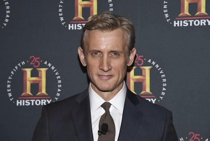 """Journalist Dan Abrams attends A+E Network's """"HISTORYTalks: Leadership and Legacy"""" at Carnegie Hall on Saturday, Feb. 29, 2020, in New York. (Photo by Evan Agostini/Invision/AP)"""