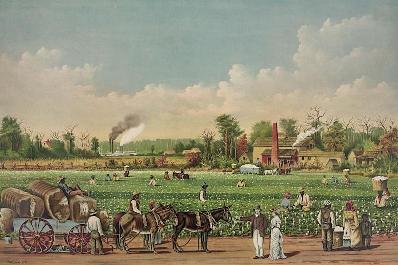 The British wanted to damage the white farmers and plantation owners by encouraging their slave labour force to desert their ownersWikimedia Commons