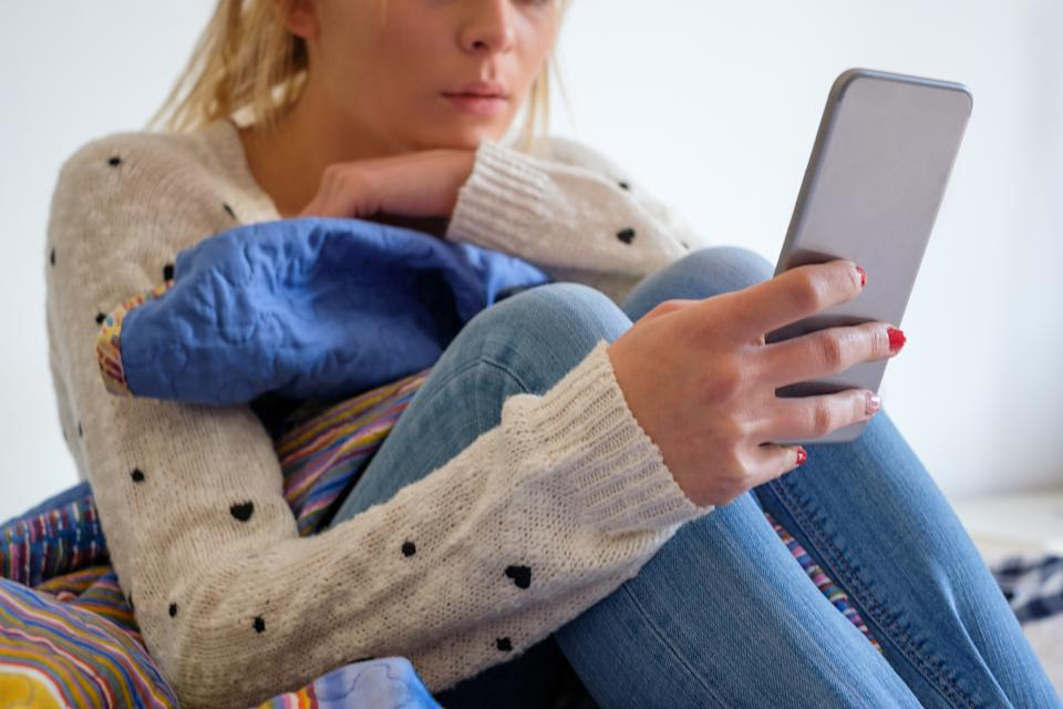 Researchers found that social media was linked to negative mental health [Photo: Getty]