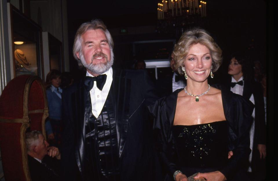 """<p>Country singer Kenny Rogers was married <a href=""""https://www.cheatsheet.com/entertainment/celebrities-marriages-divorces.html/"""" rel=""""nofollow noopener"""" target=""""_blank"""" data-ylk=""""slk:five times"""" class=""""link rapid-noclick-resp"""">five times</a>. His first marriage was to artist Janice Gordon from 1958 to 1961; Jean Rogers from 1950 to 1963; Margo Anderson from 1964 to 1976; actress Marianne Gordon from 1977 to 1993. And his fifth marriage was to Wanda Miller in 1997 until his death in 2020.</p>"""