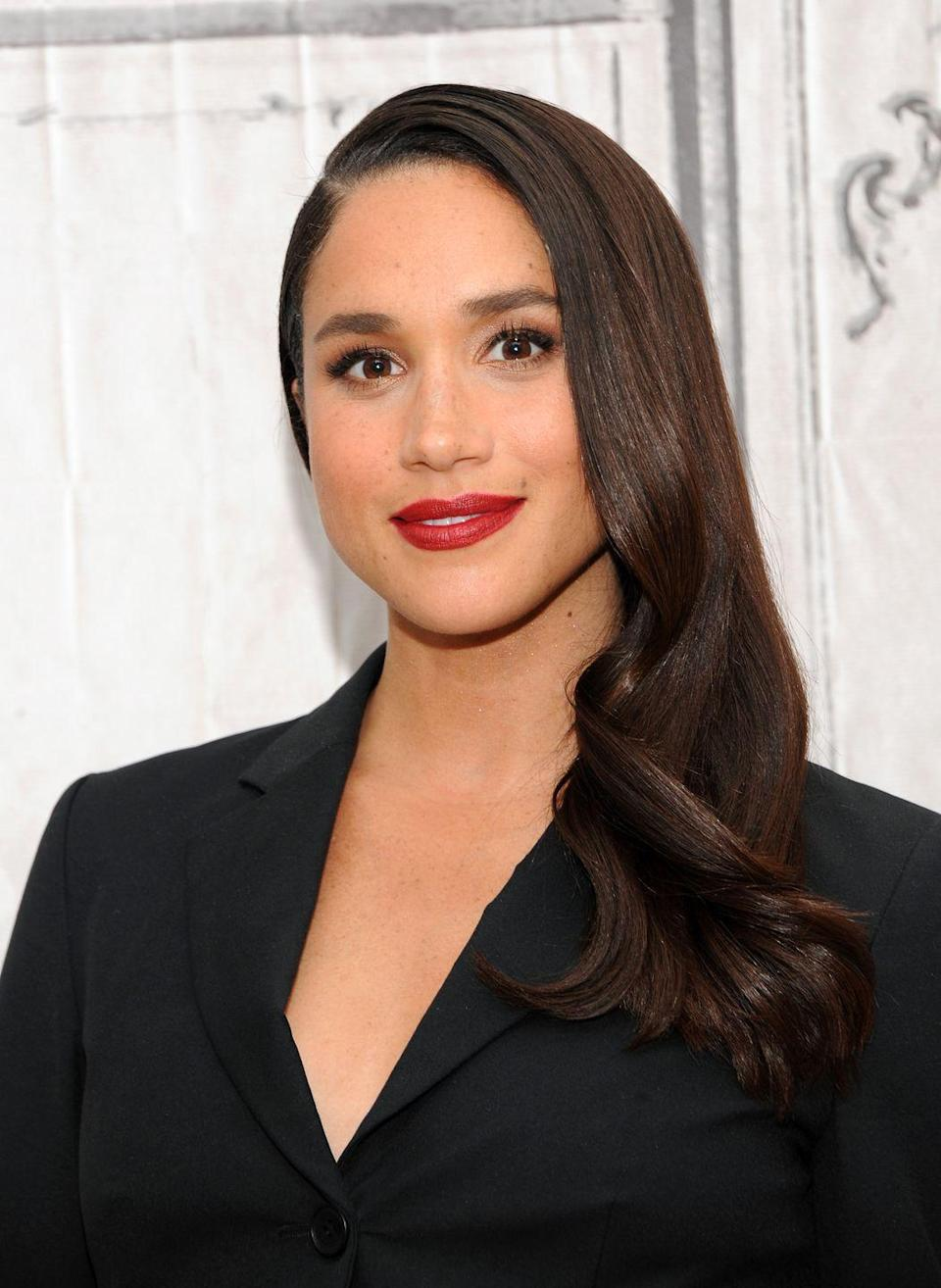 <p><strong>Real name: </strong>Rachel Meghan Markle</p><p>The Duchess of Sussex's middle name is actually Meghan, while her first name is Rachel. </p>