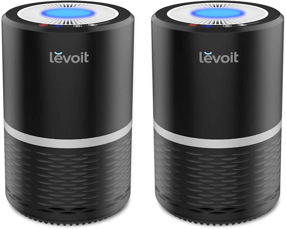 This two-pack will help filter multiple rooms at once. (Photo: Amazon)