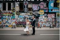"<p>Wedding photography in Britain might not get much better than at the hands of Bongard. Brighton, Bristol, London – you name a UK city and this photographer has found the perfect places to shoot in them.</p><p>'I've always been a photographer but I started shooting weddings after seeing my friends have these amazing days and itching to document them and tell their story,' she tells us.</p><p>'I shoot creative weddings bursting with colour and cheer for cool couples who want to do something a bit different for their big day. Travelling, gorgeous buildings, art and colour all massively influence my shooting style, but mostly, I adore weddings with a focus on good people, good music and great times: all the stuff that really matters!'</p><p>If you're after a photographer capturing the fun, light-hearted and most romantic moments on your big day, then consider Bongard, ASAP.</p><p><strong>Prices</strong>: Start at £1,500 (shorter day, five hour coverage in London)</p><p><strong>Find Joanna Bongard on Instagram <a href=""https://www.instagram.com/joannabongardphoto/"" rel=""nofollow noopener"" target=""_blank"" data-ylk=""slk:here"" class=""link rapid-noclick-resp"">here</a>.</strong></p><p><strong><a class=""link rapid-noclick-resp"" href=""https://www.joannabongard.com/"" rel=""nofollow noopener"" target=""_blank"" data-ylk=""slk:BOOK HERE"">BOOK HERE</a></strong></p>"