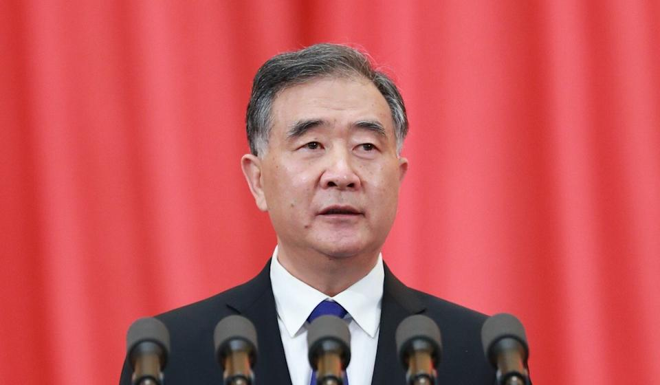 Wang Yang outlined a series of policy goals to boost cross-strait integration. Photo: Xinhua