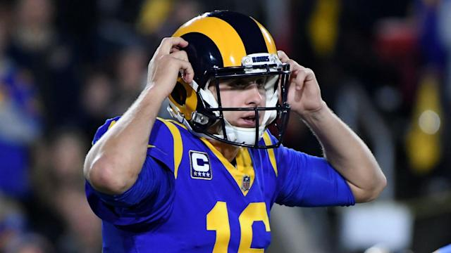 The Los Angeles Rams re-signed quarterback Jared Goff until the end of the 2024 NFL season.