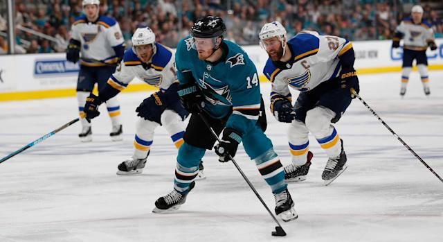 Gustav Nyquist's stay in San Jose was a short one, as he's headed to the Blue Jackets.