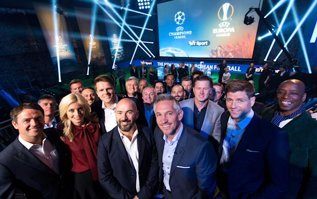 <span>The Europa League draw will be broadcast live on BT Sport 2</span> <span>Credit: REX </span>