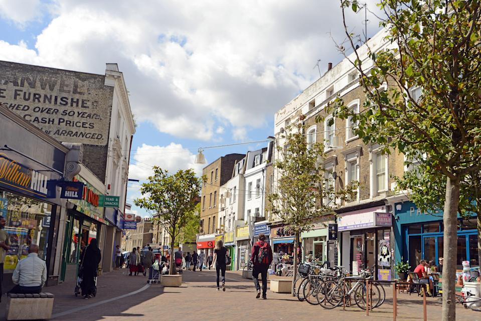 Hackney is one area to have seen a dramatic property transformation, with prices up 105 per cent over the last 10 years, to an average of £604,000 (Daniel Lynch)