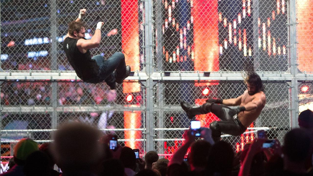 "<p>Too often since HIAC became its own pay-per-view, matches are forced into the structure without having built up enough bad blood to warrant it. Here, the Cell was <a href=""https://www.digitalspy.com/tv/wwe/interviews/a605569/seth-rollins-i-want-to-headline-above-john-cena-at-hell-in-a-cell/"" target=""_blank"">absolutely warranted</a> as the most <a href=""https://www.digitalspy.com/tv/wwe/feature/a575293/the-shield-2012-2014-after-seth-rollinss-betrayal-why-we-loved-them/"" target=""_blank"">serious rivalry in recent WWE history</a> was (for a short while) resolved.</p><p>A great back-and-forth full of classic moments that both nodded to the past of Hell in a Cell while also taking advantage of the young wrestlers' own character, athleticism and imagination, this felt like making good on all those ""new era"" promises we'd been hearing for so long.</p><p>This time Bray Wyatt got involved before the finish, gifting Seth Rollins the win. Many fans are still peeved by how it played out, but hey, the first ever HIAC match ended with interference so it's hardly unprecedented.</p>"