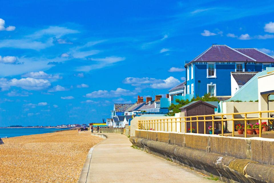 Sandgate has topped a list of Airbnb's most popular seaside destinations (Alamy/PA)