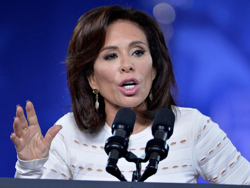 <p>Jeanine Pirro, who hosts Justice with Judge Jeanine on Fox News, has been an outspoken defender of the president</p> (AFP via Getty Images)