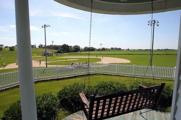 PHOTO: The house where the movie character Ray Kinsella (Kevin Costner) lived in for the Field of Dreams movie site in Dyersville, Iowa. (Stan Grossfeld/The Boston Globe via Getty Images)