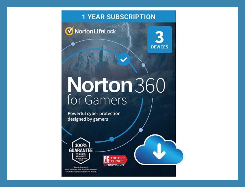 Save a whopping 61 percent on Norton 360 for Gamers, today only. (Photo: NortonLifeLock)