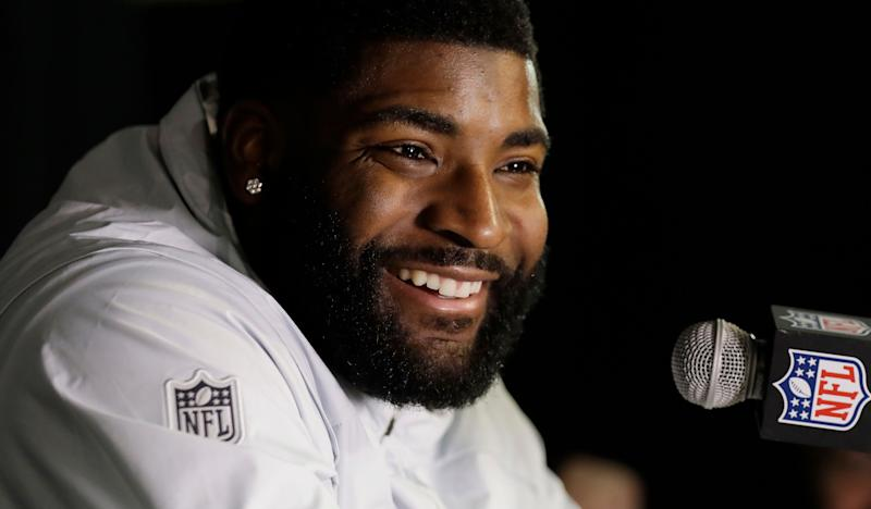 Vinny Curry is reportedly returning to the Philadelphia Eagles on a one-year deal. (AP)
