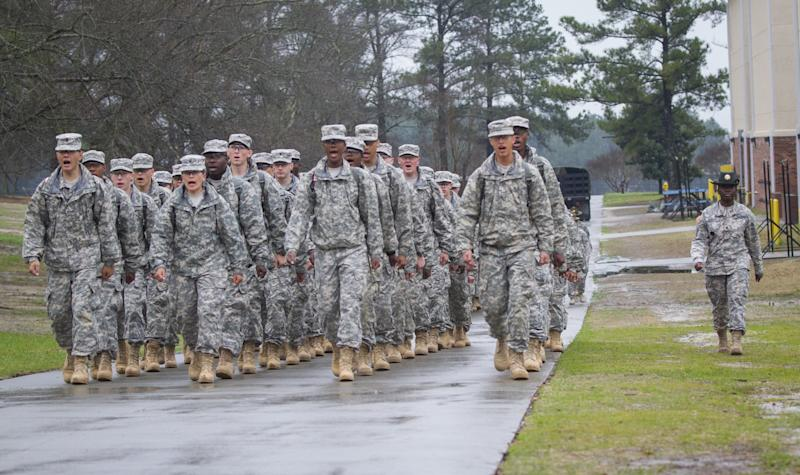 ft jackson formation drill sergeant