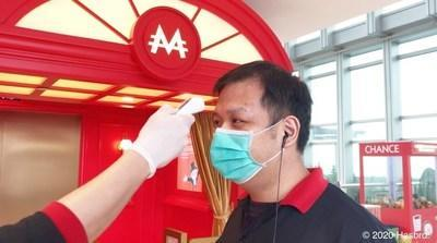All staff are required to monitor their body temperature on a daily basis, and wear masks and disposable latex gloves during their work.
