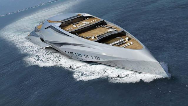 This 751 Foot Superyacht Will Soon Be The World S Largest