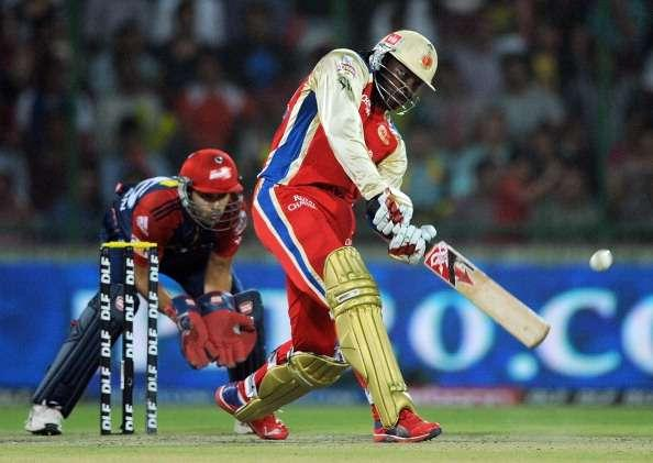 Gayle enjoyed a brilliant outing in the 2012 season. The 2012 season can be singled out as the batsman's best outing in the IPL. This time around, the Gayle storm began in Delhi's Feroz Shah Kotla, where the victims were Delhi Daredevils.No ground is big enough once Gayle gets going and the small boundaries of the Kotla looked even smaller as the assault began. Gayle smashed 128 not out off only 62 balls, which included a total of 13 sixes along the way. The Delhi bowlers looked completely demoralised and Bangalore went on to score 215 from 20 overs, which couldn't be chased by the home side.