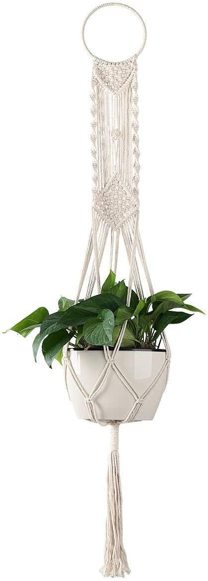 <p>Add this <span>Cuttte Macrame Plant Hanger</span> ($11) to your living room.</p>