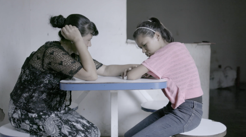 """In""""Towards the North,""""viewers get anintimate look into the daily battles of asylum seekers from Central America through the eyes of Nelly and her daughter, Joseline."""